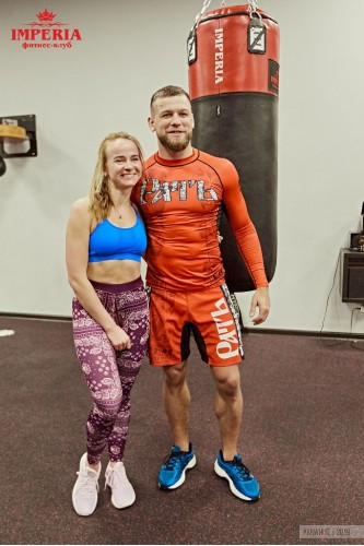 Открытая тренировка  по смешанным единоборствам с Николаем Алексахиным
