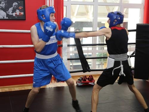 Спарринг, дети, бокс..